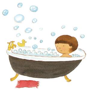 mandi pagi